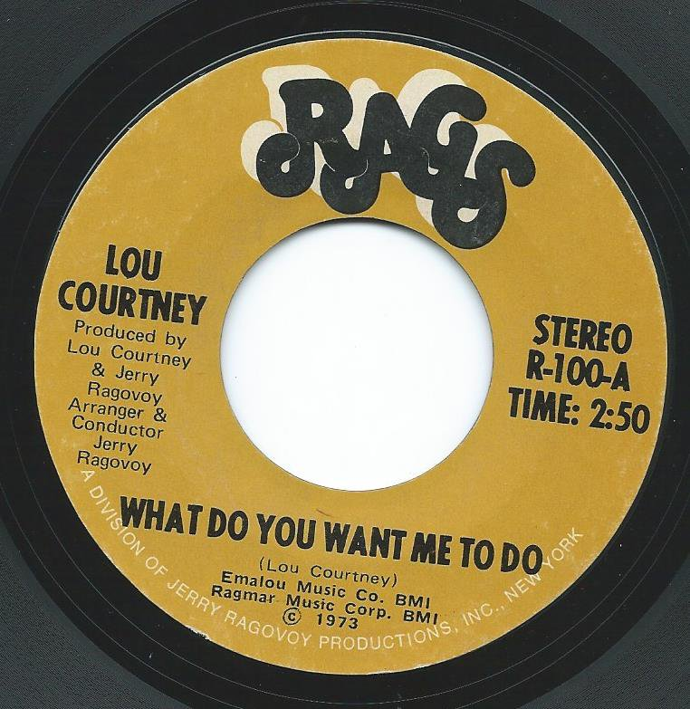 LOU COURTNEY / WHAT DO YOU WANT ME TO DO (7