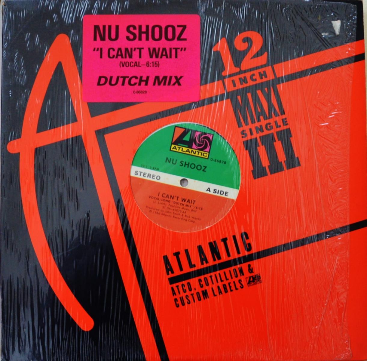 NU SHOOZ / I CAN'T WAIT / DON'T TURN BACK (12