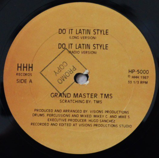 GRAND MASTER TMS / DO IT LATIN STYLE (12