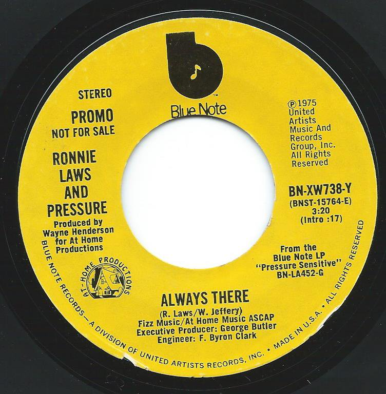 RONNIE LAWS AND PRESSURE / ALWAYS THERE (7