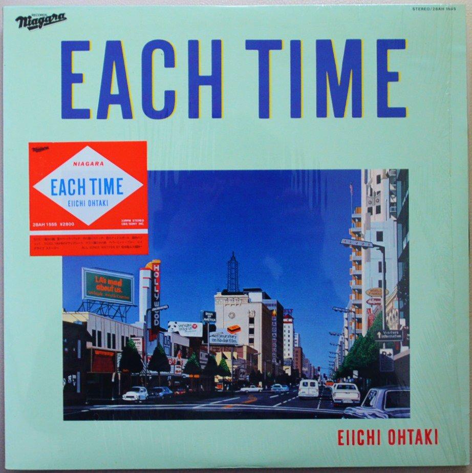 大瀧詠一 EIICHI OHTAKI / EACH TIME (LP)