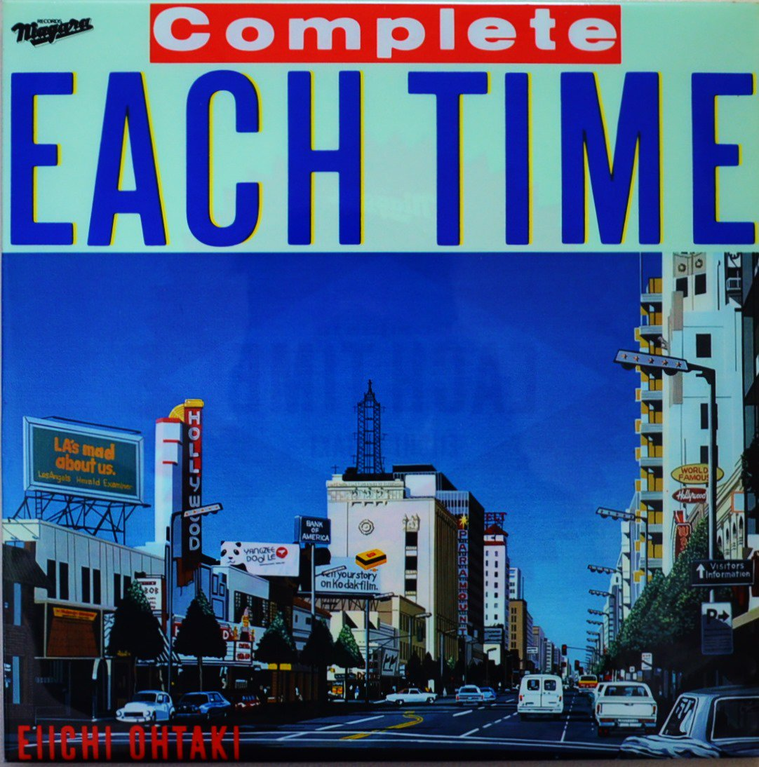 大瀧詠一 EIICHI OHTAKI / COMPLETE EACH TIME (LP)