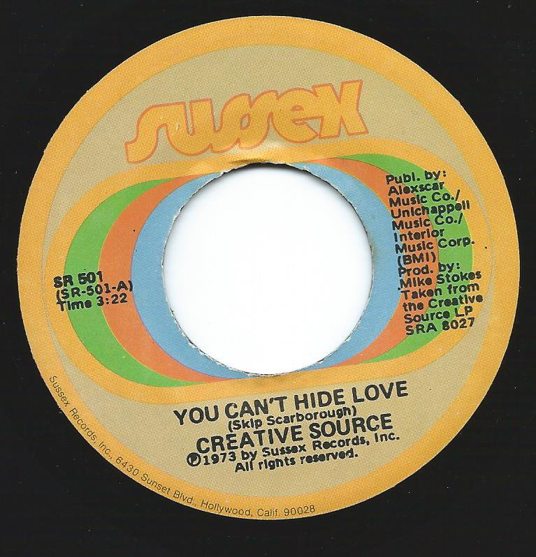 CREATIVE SOURCE / YOU CAN'T HIDE LOVE / LOVESVILLE (7