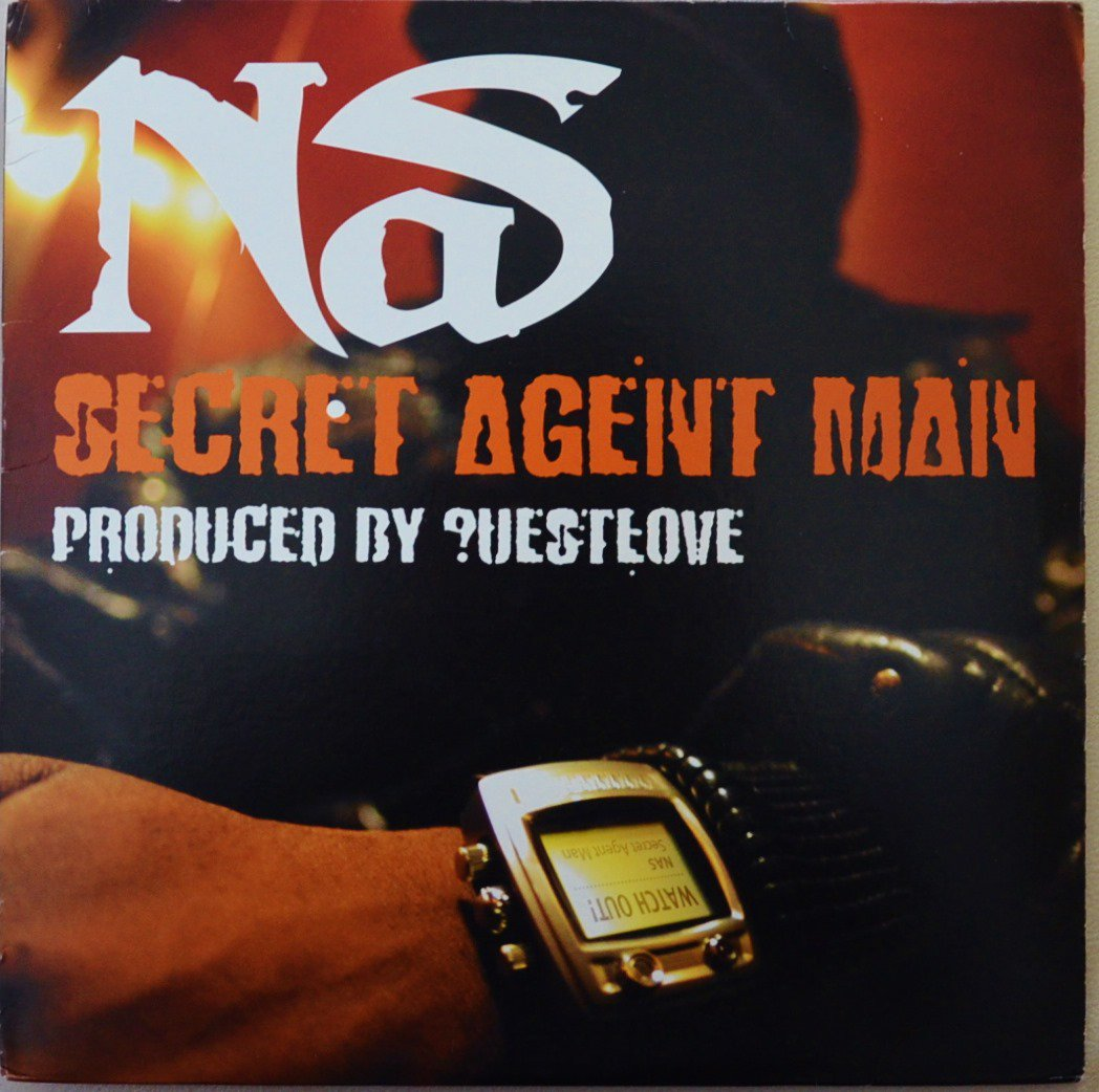 NAS / SECRET AGENT MAN (PROD BY ?UESTLOVE) (12