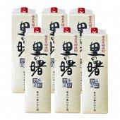 奄美 黒糖焼酎 里の曙 長期貯蔵 紙パック 25度 6本セット 1.8L