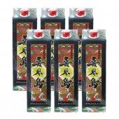 【お歳暮】 【送料無料・消費税込】奄美黒糖焼酎 喜界島 25度 紙パック6本セット 1.8L