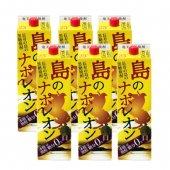 【お歳暮】 【送料無料・消費税込】奄美黒糖焼酎 島のナポレオン 紙パック6本セット 1.8L