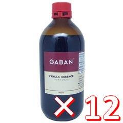 【ケース購入】GABAN(ギャバン) バニラエッセンス 500ml瓶×12本