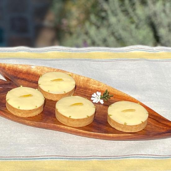 La Tartelette au Citron レモンタルト     ご予約受付けは終了いたしました