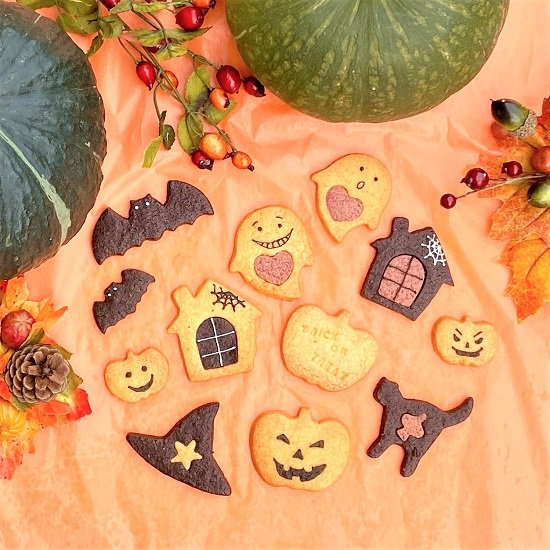 Assorted cookies for HALLOWEEN ハロウィーン アソートクッキー 5枚入り