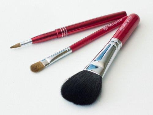 熊野化粧筆3点セット(チーク、...