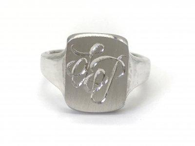 2$sjewelry/signet ring137/silver