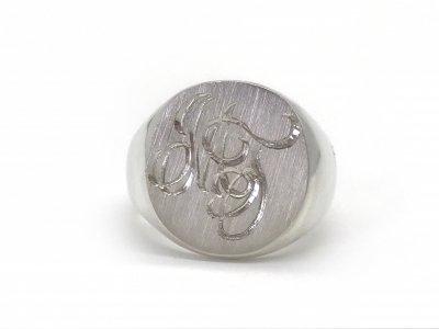 2$sjewelry/signet ring182/silver