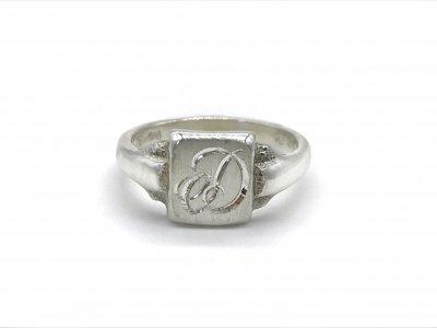 2$sjewelry/signet ring366/silver