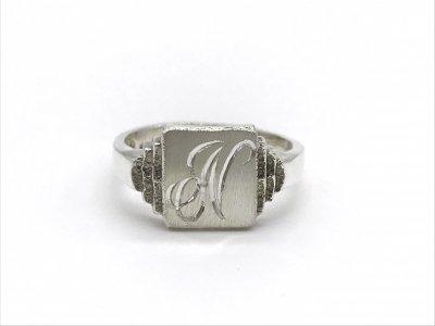 2$sjewelry/signet ring248/silver