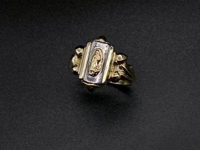 silly essence/florence ring/brass/silver