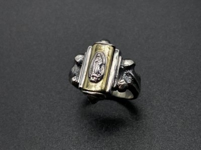 silly essence/florence ring/silver/brass