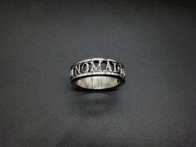 silly essence/nomad ring/silver