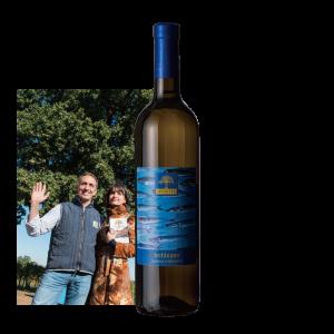 【魚介系料理にはこれ!】2016 トレッビアーノ ルチアーノ×タカナミ《契約栽培ブドウ・特注醸造》