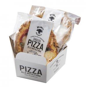 手軽で美味しい、ストック出来て便利!本格ナポリピッツア3枚詰め合わせ オリジナルピザカッタープレゼント付き!