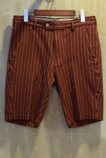 08sircus(16SS)/08サーカス/Cu/Co chalk stripe shorts col62