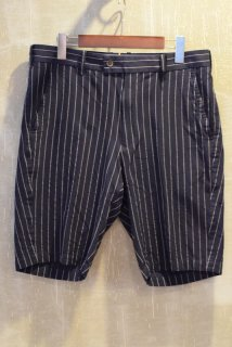 08sircus(16SS)/サーカス/Cu-Co chalk stripe shorts col51