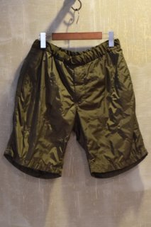 08sircus(16SS)/サーカス/mesh bonding quilting shorts