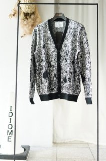 amok(17SS)/アモク/NEW OLD PILLING CARDIGAN