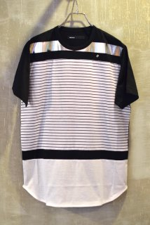 08sircus(17SS)/08サーカス/silver foil border T