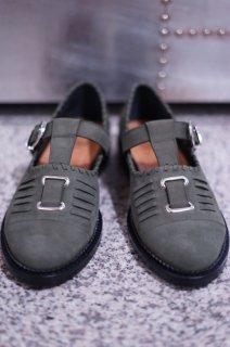 TOGA VIRILIS(17AW)/トーガビリリース/AJ851 T-strap shoes dgn