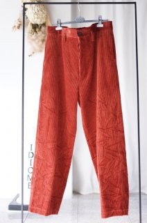 MARNI(17AW)/マルニ/TROUSER WIDE-WALE CORDUROY rust<img class='new_mark_img2' src='//img.shop-pro.jp/img/new/icons15.gif' style='border:none;display:inline;margin:0px;padding:0px;width:auto;' />