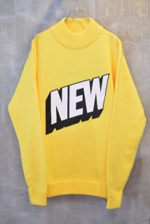 SOULLAND(17AW)/ソウルランド/Heavy Rollneck Sweater l.yellow