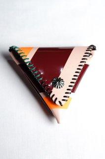 TOGA VIRILIS(18SS)/トーガビリリース/Metal leather wallet 4 l.pink