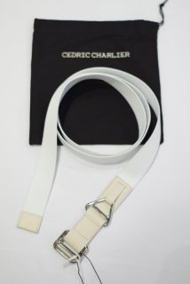 C&#201;DRIC CHARLIER(18SS)/セドリックシャルリエ/long-belt wh<img class='new_mark_img2' src='//img.shop-pro.jp/img/new/icons15.gif' style='border:none;display:inline;margin:0px;padding:0px;width:auto;' />