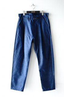 TAAKK(18AW)/ターク/FLUORESCENCE WOOL PANTS blue