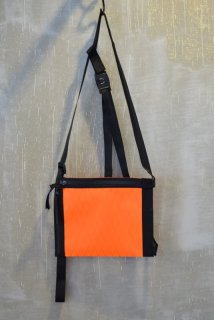 Portvel(18AW)/ポートヴェル/BODY BAG orange