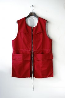 prasthana(19SS)/プラスターナ/adaptation vest red