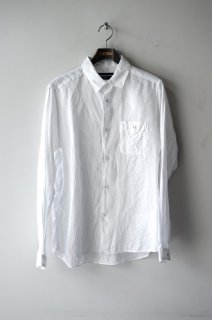 WhiteMountaineering(19SS)/ホワイトマウンテニアリング/LINEN LONG SLEEVE SHIRT wh