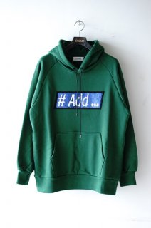 TAAKK(19AW)/ターク/#add-#Effect Hoodie green<img class='new_mark_img2' src='https://img.shop-pro.jp/img/new/icons15.gif' style='border:none;display:inline;margin:0px;padding:0px;width:auto;' />