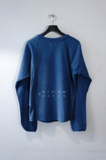 BED J.W. FORD(19AW)/ベッドフォード/Cutting crew neck ice