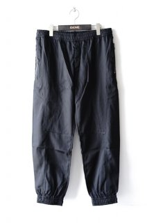 QASIMI(19AW)/カシミ/SHELL TRACK TROUSERS bk