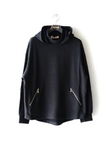 CULLNI(19AW)/クルニ/Hooded Pullover bk<img class='new_mark_img2' src='https://img.shop-pro.jp/img/new/icons15.gif' style='border:none;display:inline;margin:0px;padding:0px;width:auto;' />