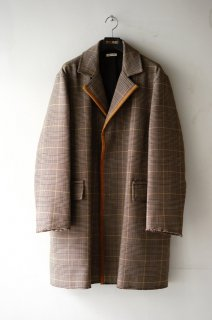 MARNI(19AW)/マルニ/wool plaid coat<img class='new_mark_img2' src='https://img.shop-pro.jp/img/new/icons15.gif' style='border:none;display:inline;margin:0px;padding:0px;width:auto;' />