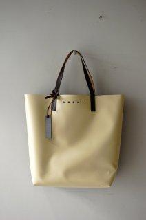 MARNI(19AW)/マルニ/PVC shopping bag beige