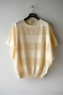 BED J.W. FORD(20SS)/ベッドフォード/mesh poncho natural<img class='new_mark_img2' src='https://img.shop-pro.jp/img/new/icons15.gif' style='border:none;display:inline;margin:0px;padding:0px;width:auto;' />