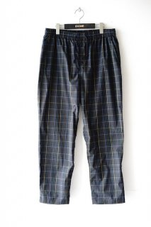 WhiteMountaineering(20SS)/ホワイトマウンテニアリング/MULTI CHECK PAJAMA PANTS nv<img class='new_mark_img2' src='https://img.shop-pro.jp/img/new/icons15.gif' style='border:none;display:inline;margin:0px;padding:0px;width:auto;' />
