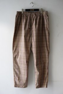 WhiteMountaineering(20SS)/ホワイトマウンテニアリング/MULTI CHECK PAJAMA PANTS beige<img class='new_mark_img2' src='https://img.shop-pro.jp/img/new/icons15.gif' style='border:none;display:inline;margin:0px;padding:0px;width:auto;' />