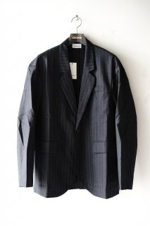 lownn(20SS)/ローン/relaxed blazer d.grey-st