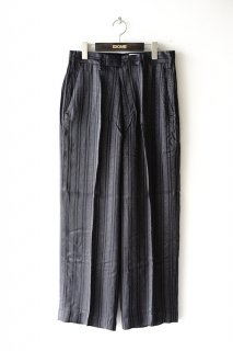 superNova.(20SS)/スーパーノヴァ/No tuck wide trouser-jacquard<img class='new_mark_img2' src='https://img.shop-pro.jp/img/new/icons15.gif' style='border:none;display:inline;margin:0px;padding:0px;width:auto;' />
