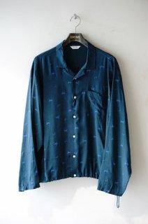 WELLDER(20SS)/ウェルダー/Drawstring Shirt green